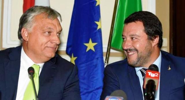 """""""L'amicizia del M5s con il regime venezuelano mi fa vergognare di essere italiano"""" Lo ha detto Salvini, l'amico di Orban. Salvini, l'amico di Bolsonaro. Salvini, l'amico di Putin. Salvini, l'amico di Tramp… Ce ne sarebbe, eccome, da vergognarsi veramente…!"""